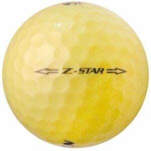 Srixon 50Z-Star Jaune–Value (AAA) Grade recyclé–(utilisé) Balles de golf