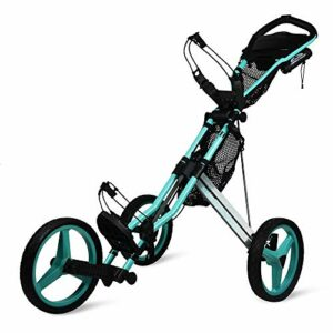 Sun Mountain Chariot de golf GX à 3 roues (Bahama/gris acier)