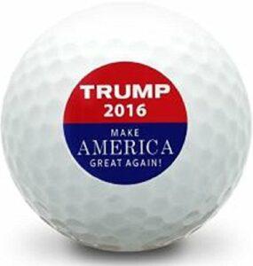 Taylor Made 3Douzaine (Président Donald Trump Make America Great Again Logo Limted Edition) Mint Balles de Golf