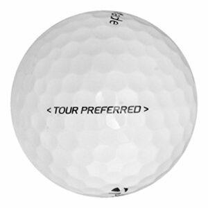 TaylorMade 60 Tour Preferred – Value (AAA) Grade – Recycled (Used) Golf Balls