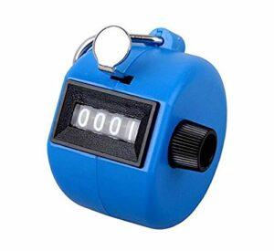 TheWin Compteur mécanique à main Bleu