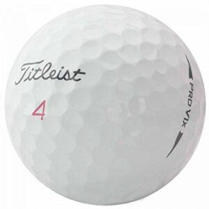 TITLEIST Pro V1x Lot de 36 balles de Golf pour Bassin Blanc