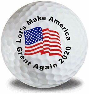 Trump Make America Great Golf Balls 3 Pack