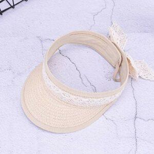 UVYANG Nouveau Mode Enfants Vide Top Cap D'Été Bébés Filles Arc Dentelle Chapeau Chapeaux De Plage Pliable Pliable Roll Up Chapeau De Soleil