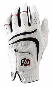 Wilson Golf WGJA00680L Gants de golf (Main Gauche )Homme, Blanc, L
