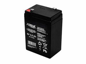 Xtreme Batterie gel 6 V 4 Ah, sans entretien, AGM