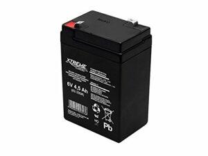 Xtreme Batterie gel 6 V 4,5 Ah sans entretien AGM