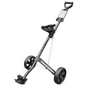 YLKCU Chariot de Golf Chariot de Golf à Tirette à 2 Roues, Plus Petit Chariot de Golf léger Pliant pour Voyage en Plein air Sport à Domicile Exercice de Bagages d'aéroport