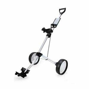 YLKCU Chariots de Golf Chariots de Golf à Deux Roues Forte capacité de Charge Résistant à l'usure et Durable adapté aux Sports de Plein air