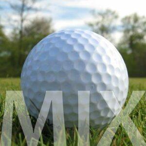 100 MARQUES MIX BALLES DE GOLF RÉCUPÉRATION / LAKE BALLS – QUALITÉ AAAA / AAA (PEARL / A GRADE) – DANS SAC EN FILET