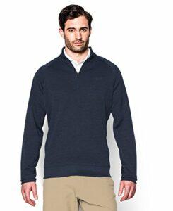 2015 Under Armour Flagstick Storm Sweater Fleece 1/4 Zip Mens Golf Pullover Academy Small