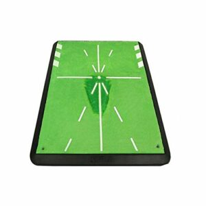 3PCS Tapis De Golf Portable-mini Tapis De Pratique Résidentiel Avec Support Et Balle En Caoutchouc En Forme De T, Excellente Aide à La Formation De Golf Pour L'intérieur, L'extérieur Et L'arrière-cour