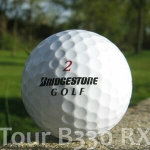 50 BRIDGESTONE TOUR B330 RX BALLES DE GOLF RÉCUPÉRATION / LAKE BALLS – QUALITÉ AAA / AA (A / B GRADE) – DANS SAC EN FILET