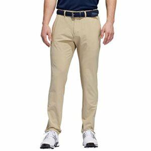 adidas Golf 2019 Pantalon de Golf fuselé résistant à l'eau Ultimate365 pour Homme Plat Raw Gold 32×32