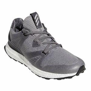 adidas Golf Hommes Adicross Crossknit 3 Chaussures de Golf – Gris/Noir – UK 8.5