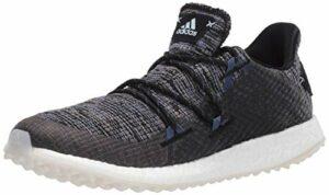 Adidas W Crossknit DPR Chaussures de golf pour femme, Noir (Core Black/Sky Tint/Grey Four), 37.5 EU