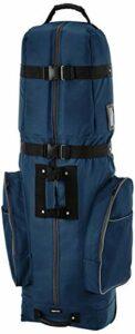 AmazonBasics Sac de golf de voyage, souple, à roulettes – Bleu
