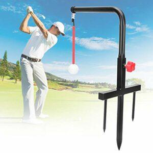 APROTII Entraîneur de swing de golf, portable pour l'extérieur et l'intérieur – Appareil d'entraînement automatique pour la pratique de la correction de la posture
