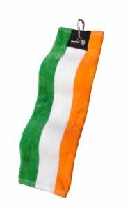 Asbri Golf Trifold–Serviette Patriote, Adulte Mixte, Irlanda