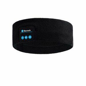 Bandeau Bluetooth sport YMHPRIDE – Casque de sport V5.0 Bandeau Ultra-mince HD Haut-parleurs stéréo détachables, Bandeau Bluetooth pour la course à pied Insomnie de voyage