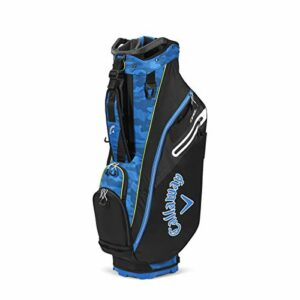 CALLAWAY 8 ORG 7 Cart Bag 2020, Adultes Unisexe, Bleu Royal/Camo, Taille Unique