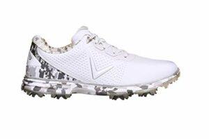 Callaway Apex Coronado Golf Shoe, Chaussures Homme, Blanc/Camouflage, 39 EU