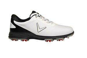 Callaway Apex Coronado Golf Shoe, Chaussures Homme, Blanc/Noir, 40 EU