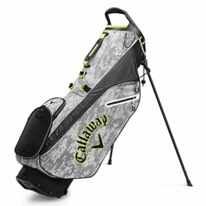 Callaway Cg Bg St Hyperlite Zero Sac de golf pour homme, Homme, Digi Camo/Jaune/Blanc, taille unique