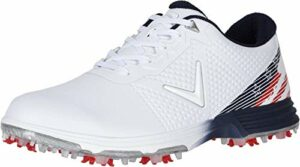 Callaway Coronado Chaussures de Golf pour Homme – – Blanc, 42 EU Weit
