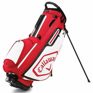 Callaway Golf Bags Sacs trépieds Adulte Unisexe, Cardinal/Blanc, Taille Unique