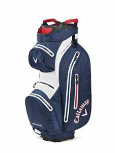 Callaway Golf Hyper Dry 15 Sac de golf Charbon/blanc/rose, Mixte, 5120031, Bleu marine/blanc/rouge, taille unique