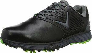 Callaway M574 Chev Mulligan S Golf Shoes, Chaussures Homme, Noir/Noir/Noir, 41 EU