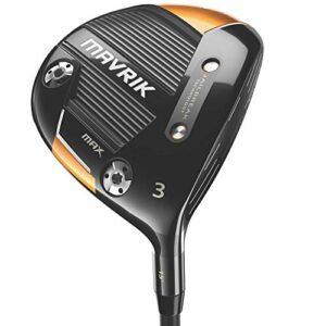 Callaway Mavrik Max 2020 Bois de parcours pour golf (main gauche, Project X Evenflow Riptide 60 g, rigide, 3 bois)