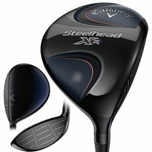 Callaway Men's Steelhead XR Fairway Wood, Right Hand, Graphite Shaft, Stiff Flex, 5 Wood, 18 Degrees