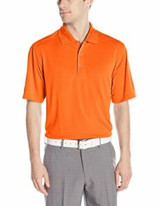Callaway Polo de Golf à Manches Courtes pour Homme Orange Mandarin Taille L