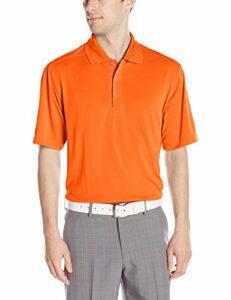 Callaway Polo de Golf à Manches Courtes pour Homme Orange Mandarin Taille M