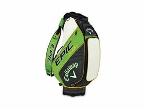 Callaway – Sac de Golf Epic Flash, Homme, 5119218, Vert/Anthracite/Blanc, Taille Unique