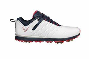 Callaway W637 Lady Mulligan Golf Shoe, Chaussures Femme, Blanc/Marine, 37 EU