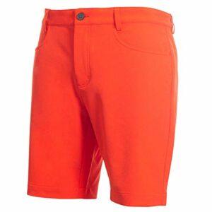 Calvin Klein Hommes Genius 4-Way Stretch Shorts – Fiery Rouge – 32