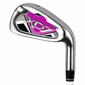 Club de golf Club De Pratique De Golf Avancé Standard Pour Putter De Golf À Impact Élevé Pour Hommes Et Femmes Pour La Pratique De Golf Intérieur Et Extérieur ( Color : Purple-W , Size : Steel shaft )