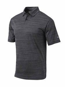 Columbia Polo de golf Omni Wick Set – noir – Taille XL