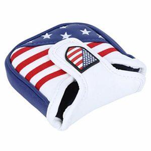 DAUERHAFT Golf Putter Protection Headcover Couvre-Putter d'écran Solaire, pour protéger la tête(Small square/13 * 11 * 3cm)