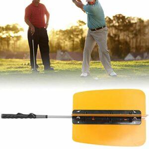 DAUERHAFT Outil de Formation de Golf Ventilateur de Couleur Orange en Forme de V, pour la Pratique