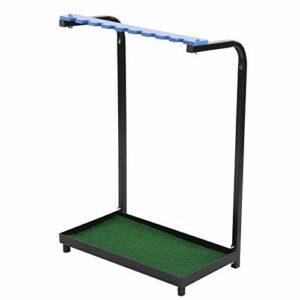 Dauerhaft Support de Club de Golf 9 Trous Robuste, Facile à Installer et à démonter, Fournitures d'outils de Golf
