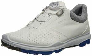 ECCO Biom Hybrid 3 Chaussures de Golf pour Homme – Blanc – Bianco 59020, 42 EU EU