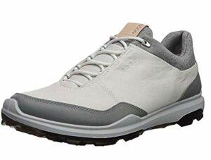 ECCO Mens Biom Hybrid 3 GTX, Chaussures de Golf Homme, Blanc (White/Black 51227), 43 EU