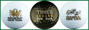 EnjoyLife Inc New York Broadway Variety Golf Ball Gift Set