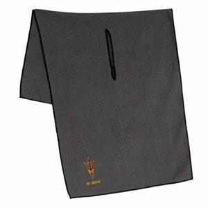 Équipe Effort Collegiate Serviette en Microfibre Grise, Arizona State Sun Devils Grey Microfiber Towel