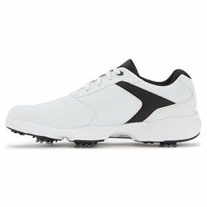 Footjoy ECOMFORT, Chaussure de Golf Homme, Blanc/Noir, 44 EU
