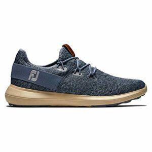 Footjoy Flex, Chaussure de Golf Homme, Coastal Blue/Slate, 47.5 EU